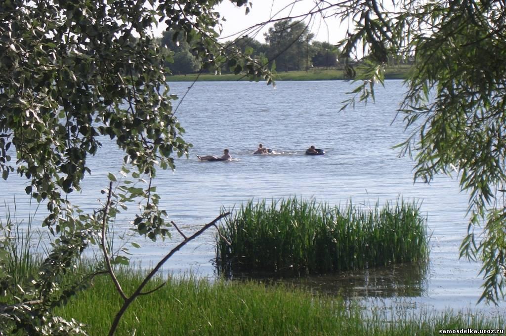 Волга за калиткой